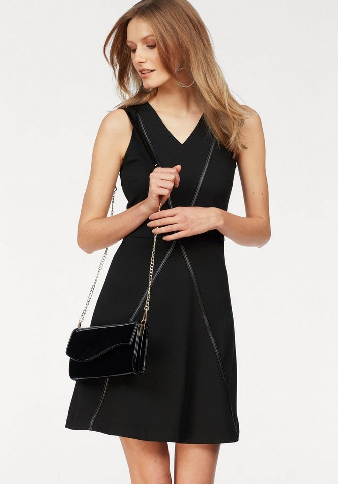 Bruno Banani A-lijn jurk zwart