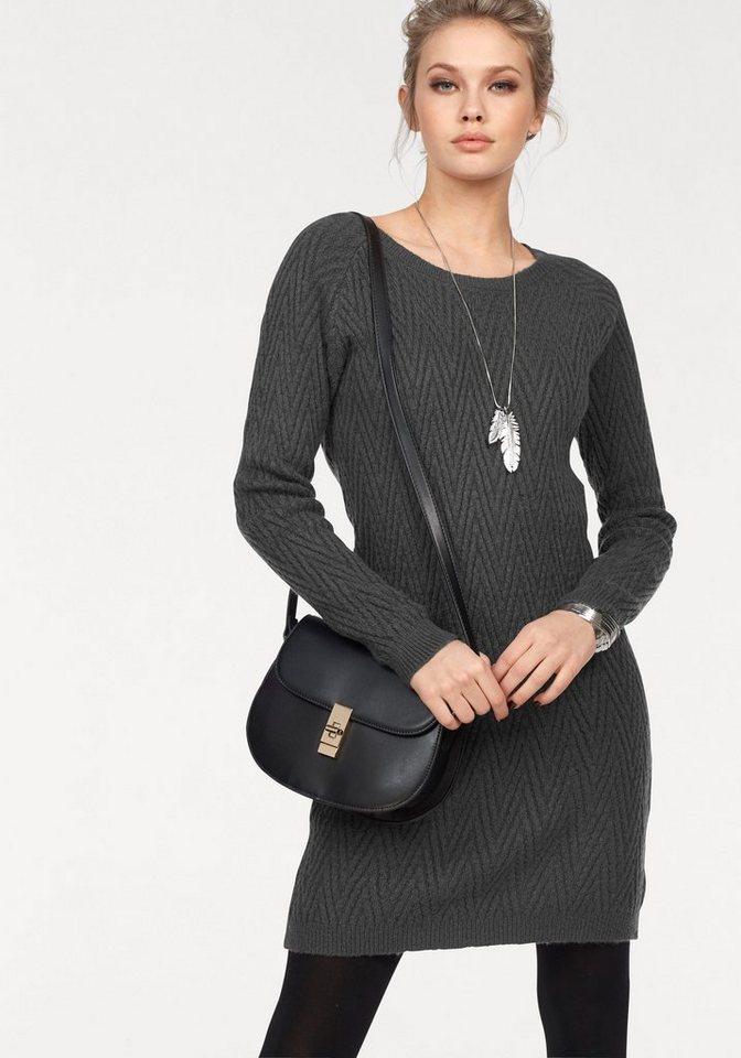 Vero Moda tricotjurk POSH grijs
