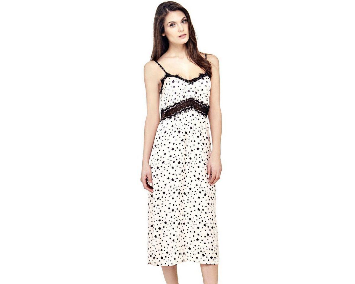 Guess jurk met sterrenprint multicolor