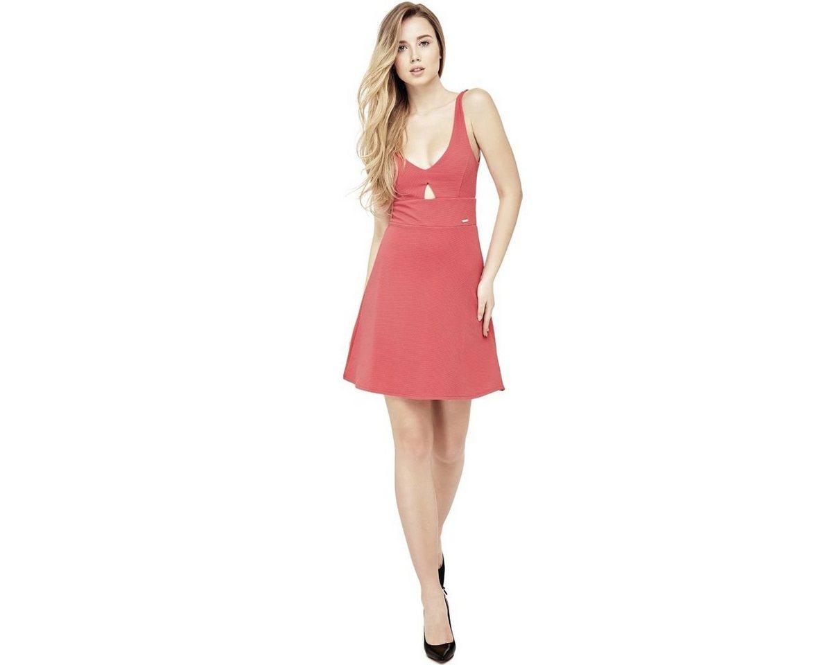 Guess jurk met cut-out voor multicolor