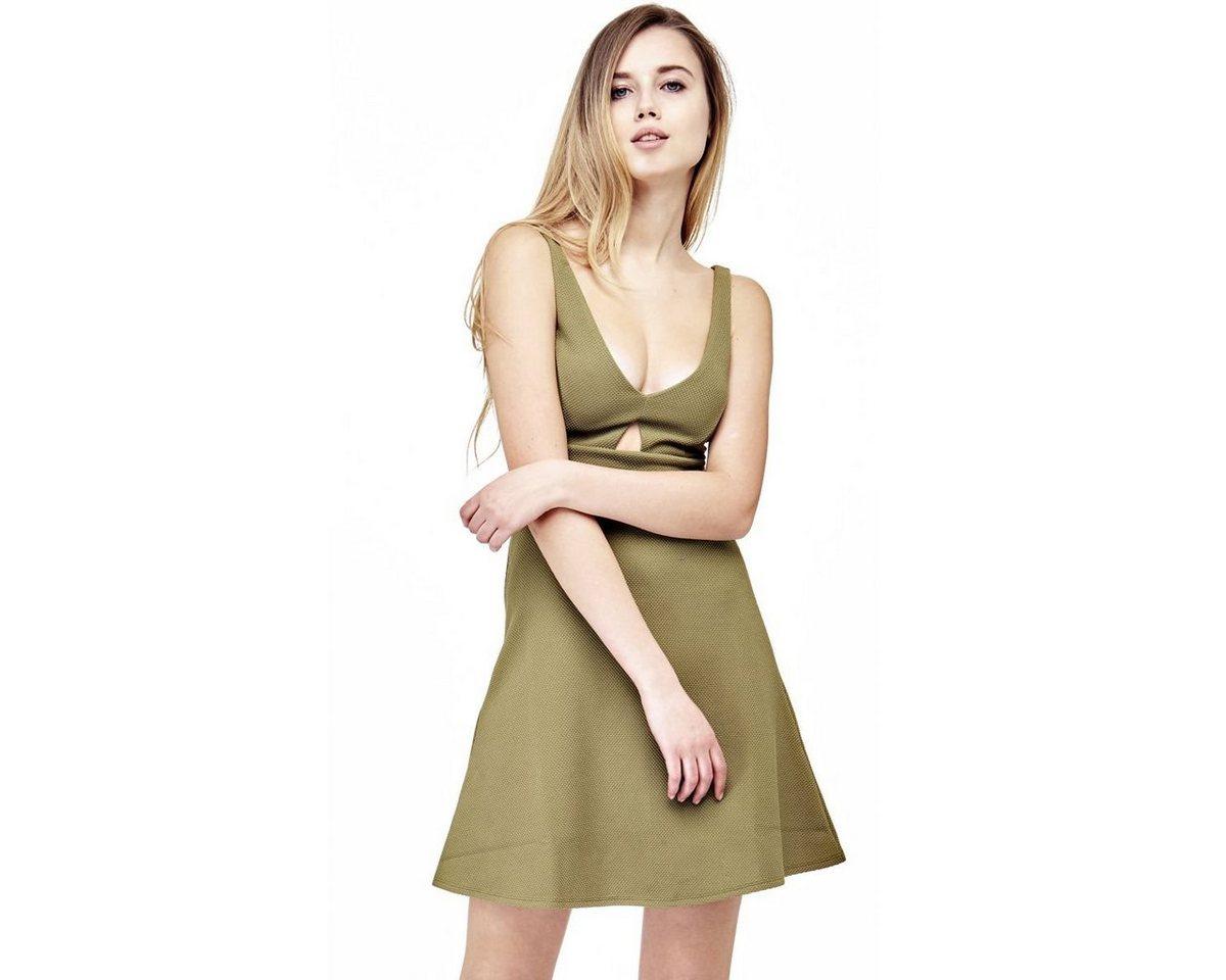 Guess jurk met cut-out voor groen