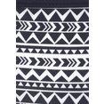 venice beach bikinibroekje ethno in trendy kleuren zwart