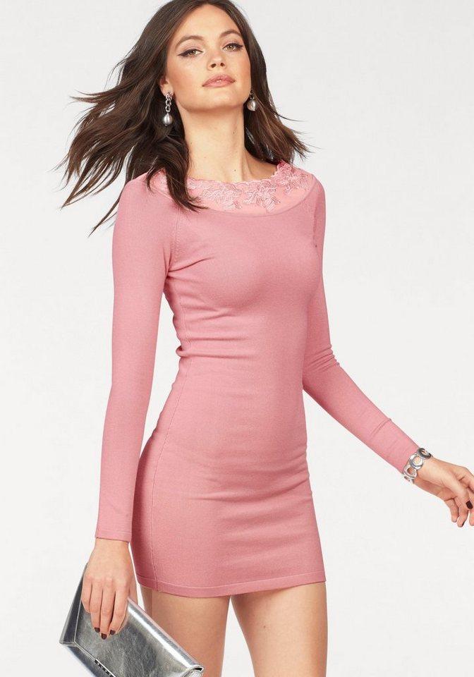 Melrose tricotjurk roze