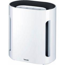 beurer luchtreiniger lr 200, luchtreiniging door drielaags filtersysteem wit
