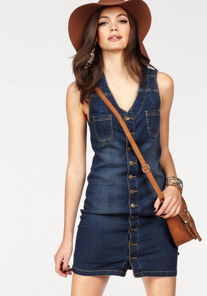 Melrose jeansjurk blauw