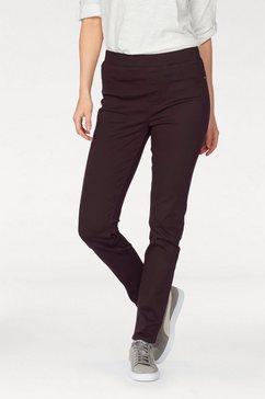 stooker women skinny fit jeans »florida« paars