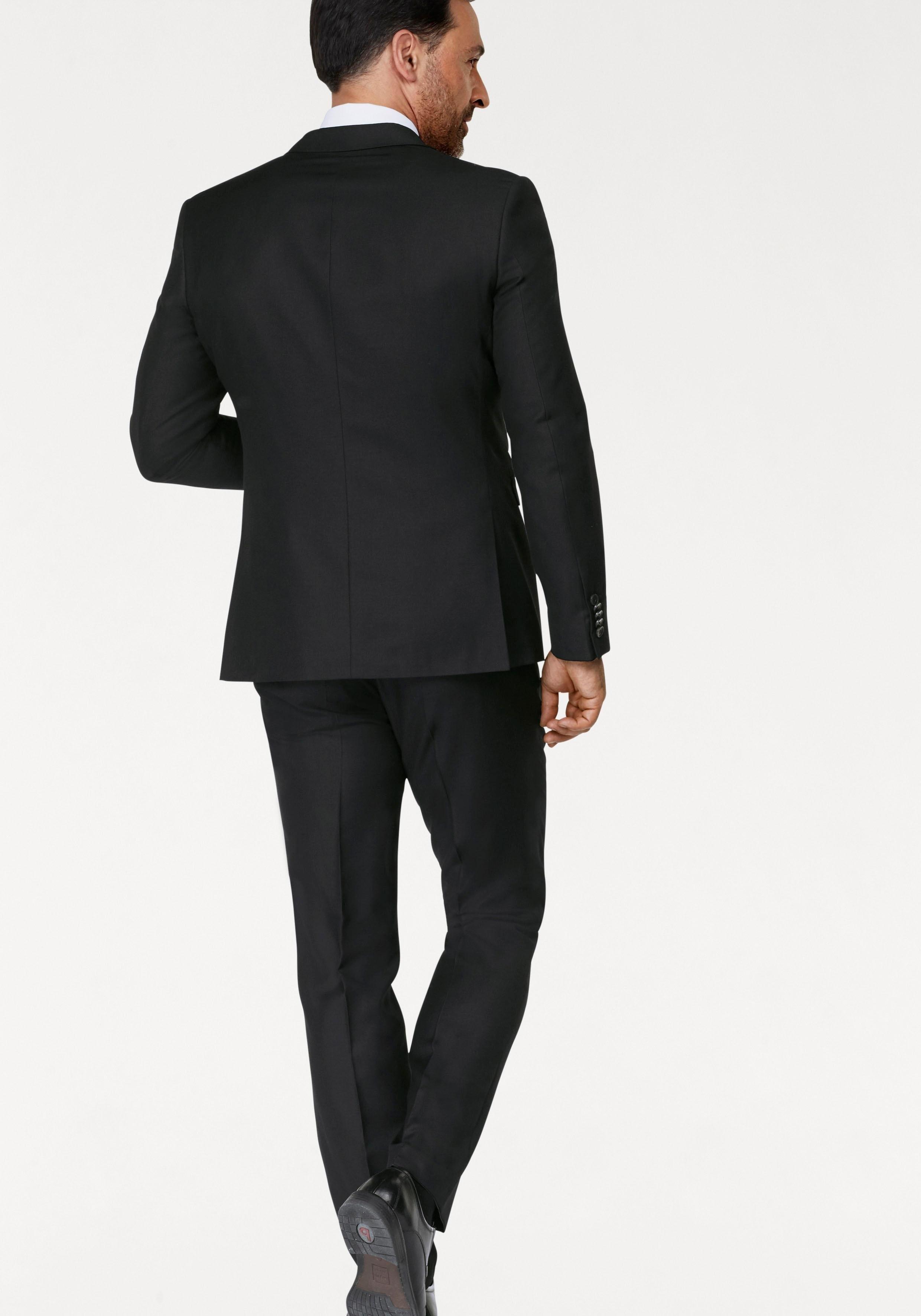 3 delig zwart pak