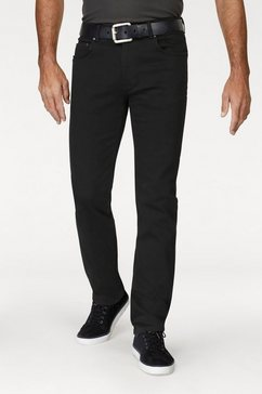 pioneer authentic jeans stretchjeans »rando« zwart