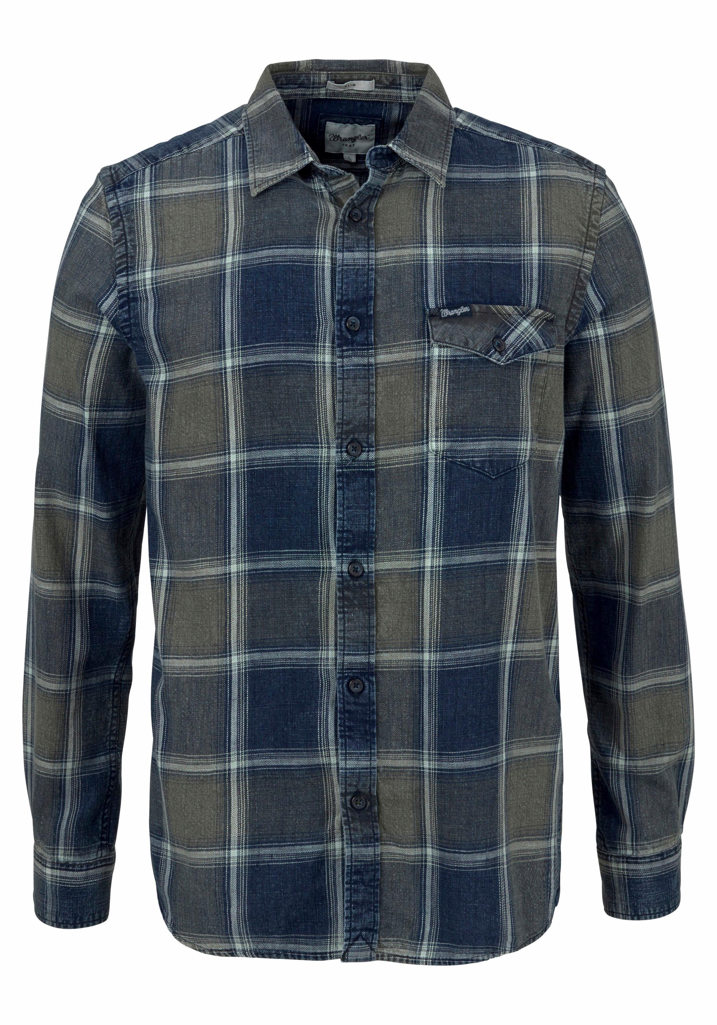 Geruit Snel Overhemd Online GekochtOtto Wrangler WDEIeYH29