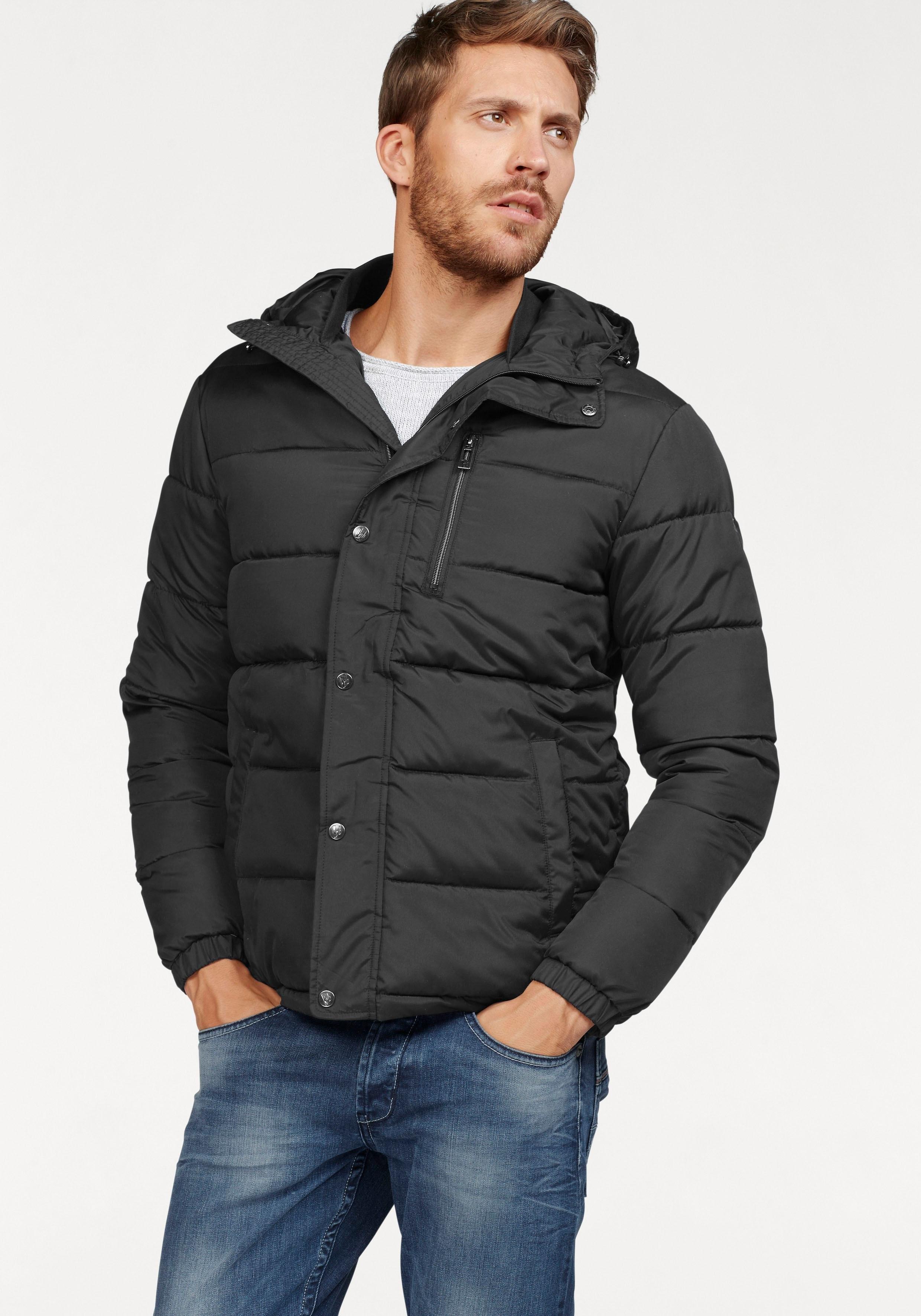 Op zoek naar een Bruno Banani gewatteerde jas met logobadge? Koop online bij OTTO