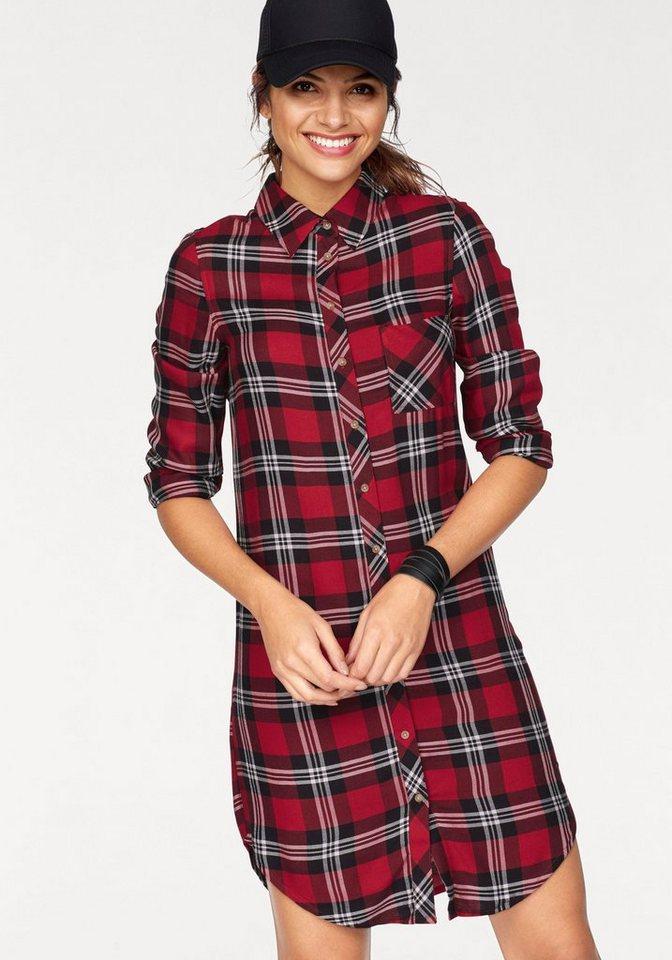 AJC geruite blouse rood