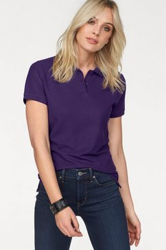 fruit of the loom poloshirt »lady-fit premium polo« paars