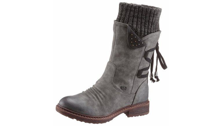 rieker laarzen in tex-uitvoering in de online shop   otto