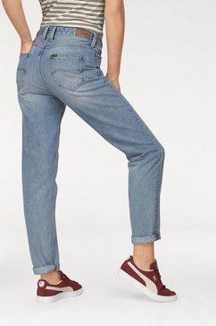 """lee straight-jeans »""""mom straight""""« blau"""