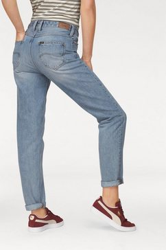 "lee straight-jeans »""mom straight""« blauw"