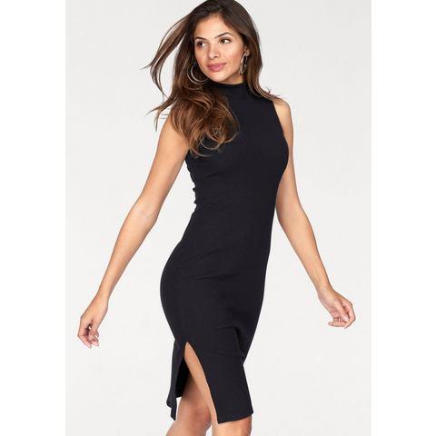 AJC Jersey-jurk met staande kraag