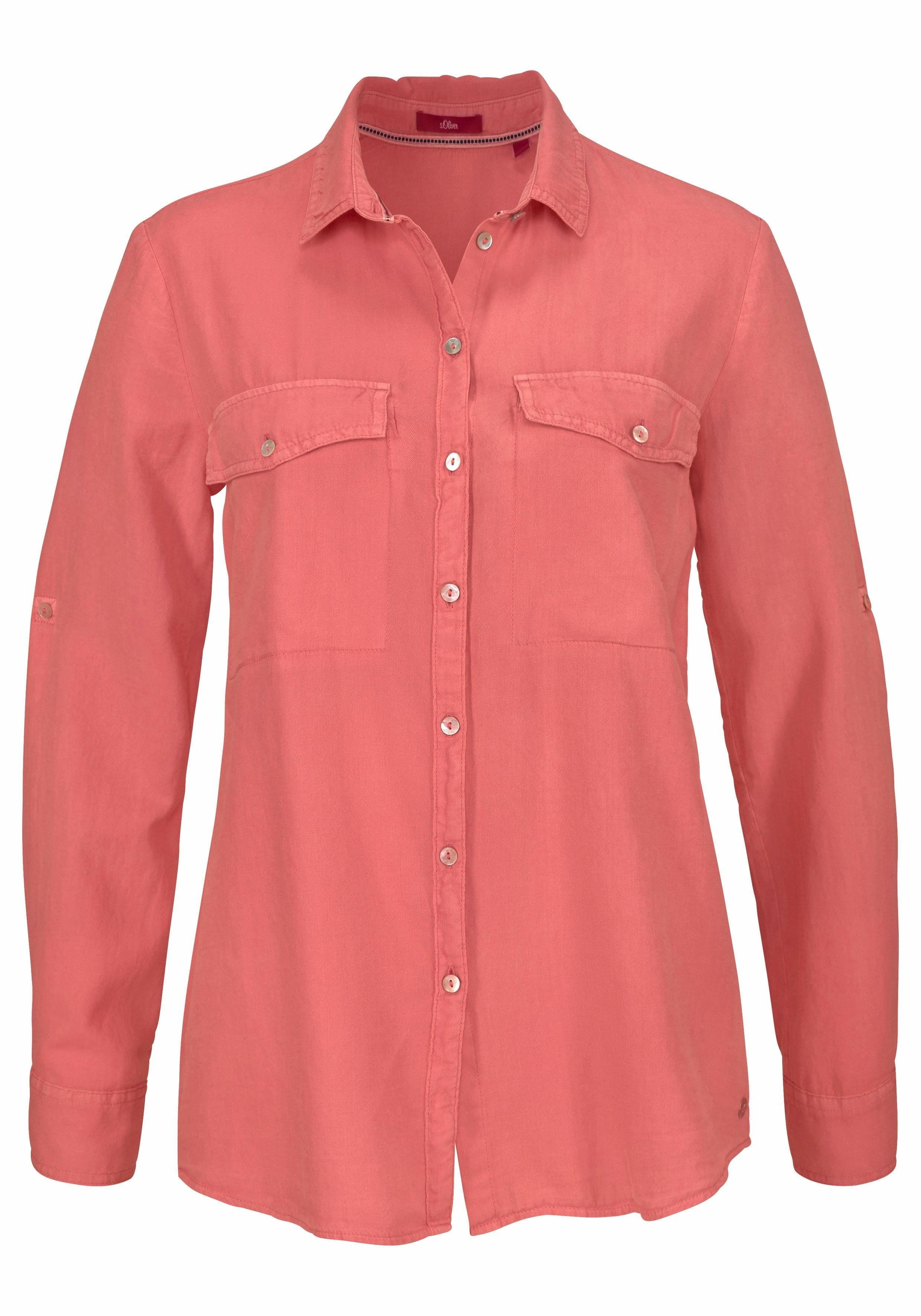 oliver Label Gekocht Red Overhemdblouse S Makkelijk PkOXZiu