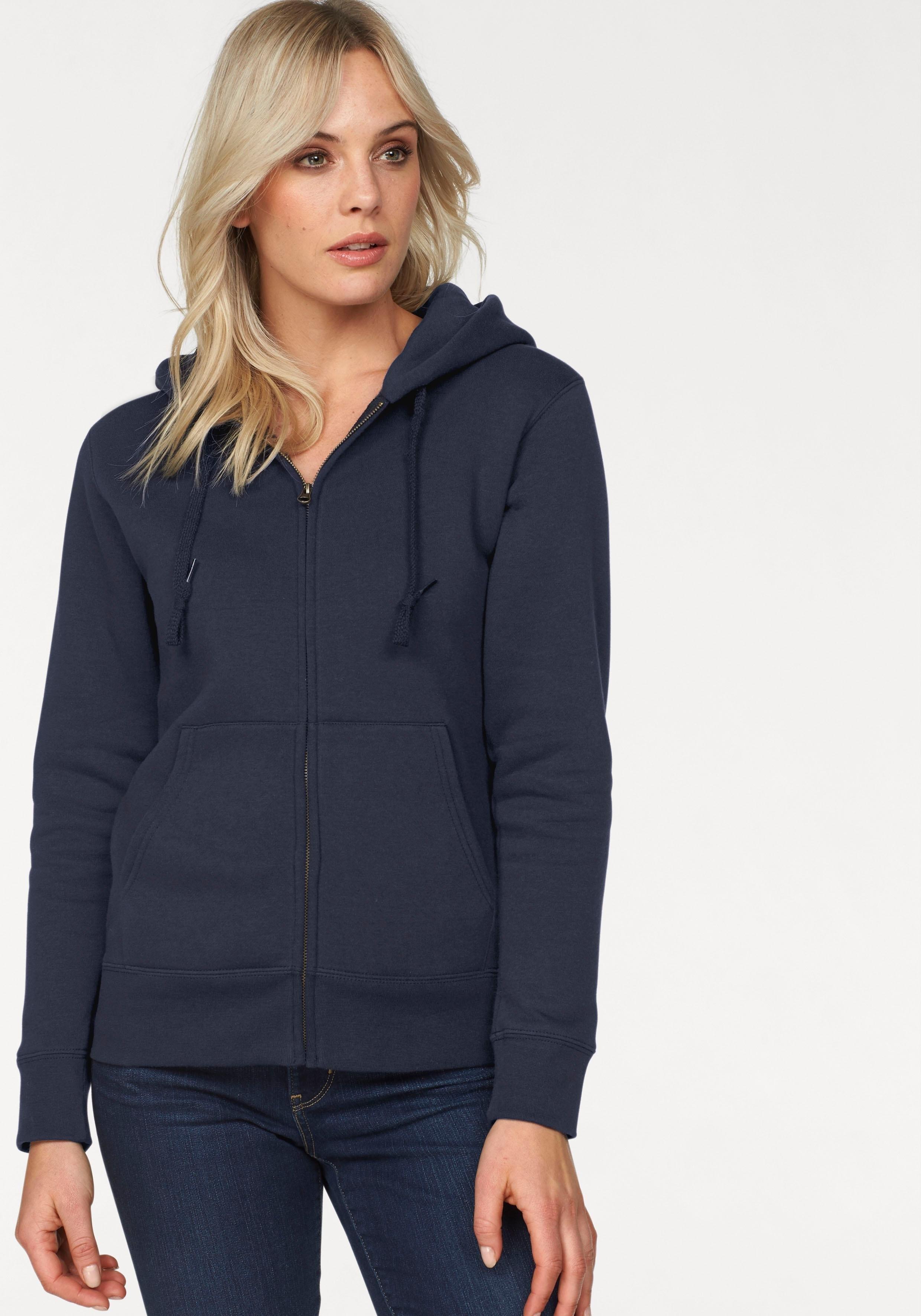 Fruit of the Loom hoodie Lady-Fit Premium hooded Sweat Jacket goedkoop op otto.nl kopen
