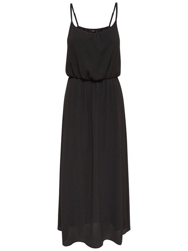 ONLY Mouwloze Maxi jurk zwart