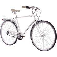 chrisson citybike (heren) »vintage city gent n3«, 28 inch, 3 versnellingen, terugtraprem wit