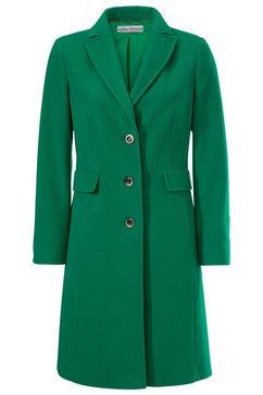 wollen mantel groen