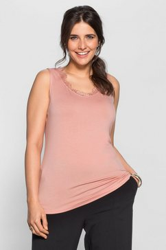 sheego style top roze