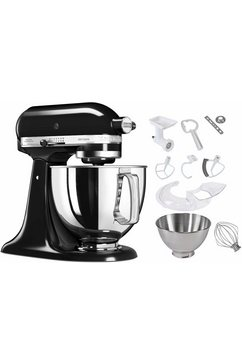 Keukenmachine Artisan 5KSM150PSEAC, onyx-zwart, incl. extra accessoires ter waarde van ca. € 214,-