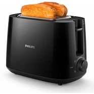 philips toaster hd2581-90 daily collection, 2 roostersleuven, 830 w, zwart zwart