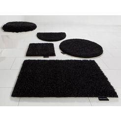 badmat »manu«, bruno banani, hoogte 22 mm, met antislip-coating zwart