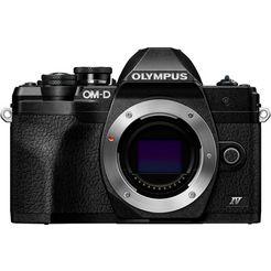 olympus »e-m10 mark iv« systeemcamera-body zwart