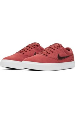 nike sb sneakers »charge suede skate« rood
