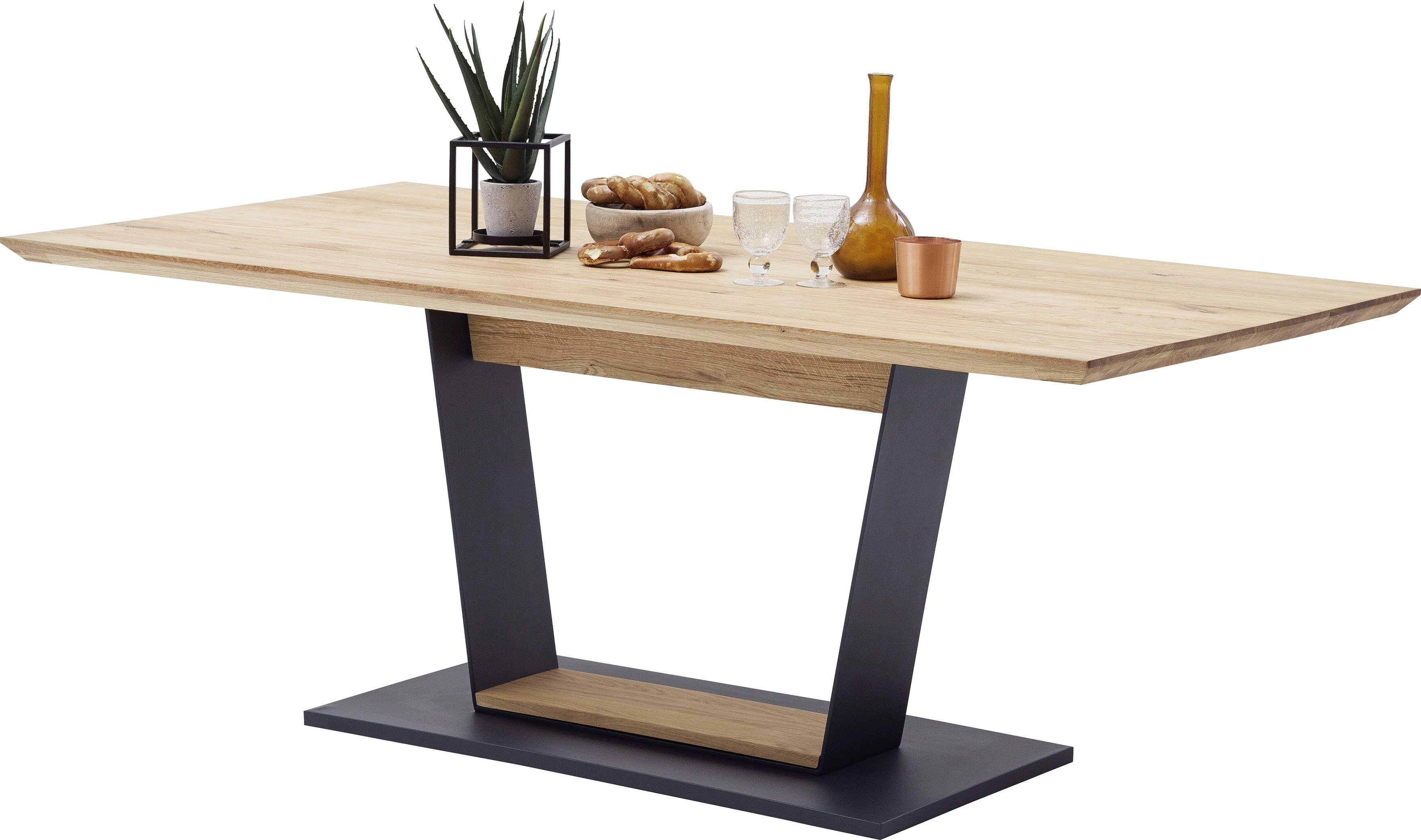 MCA furniture Eettafel Malambo Massief hout veilig op otto.nl kopen