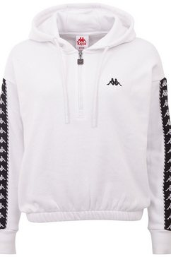 kappa sweatshirt »ivaine« wit