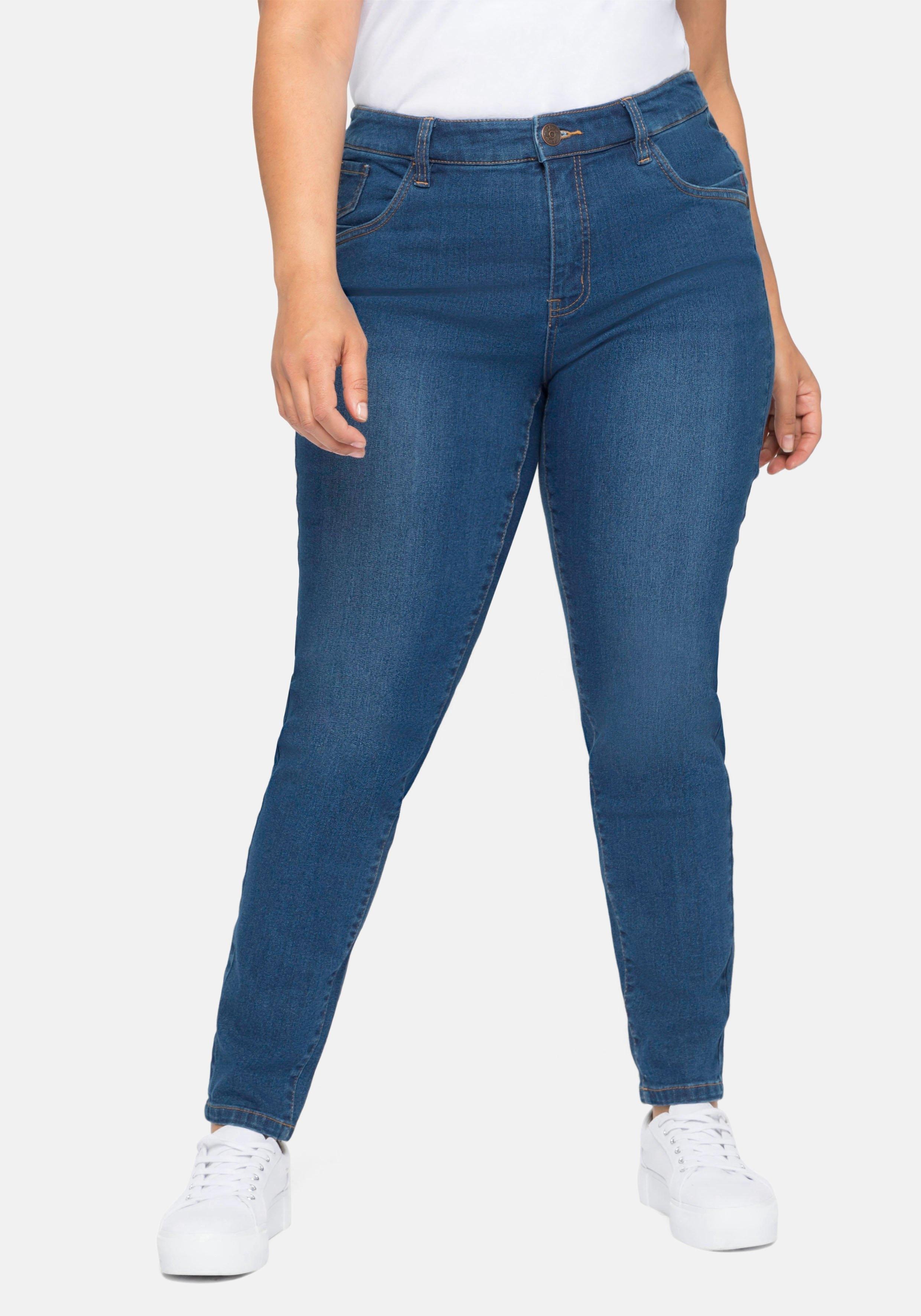 Sheego stretch jeans Skinny in 5-pocketsmodel - verschillende betaalmethodes