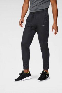 reebok trainingsbroek »wor knit pant« zwart