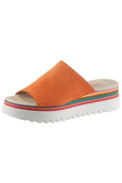 gabor slippers oranje