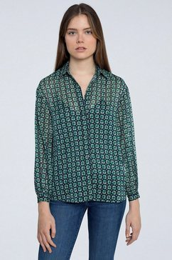 pepe jeans blouse zonder sluiting »antonella« multicolor