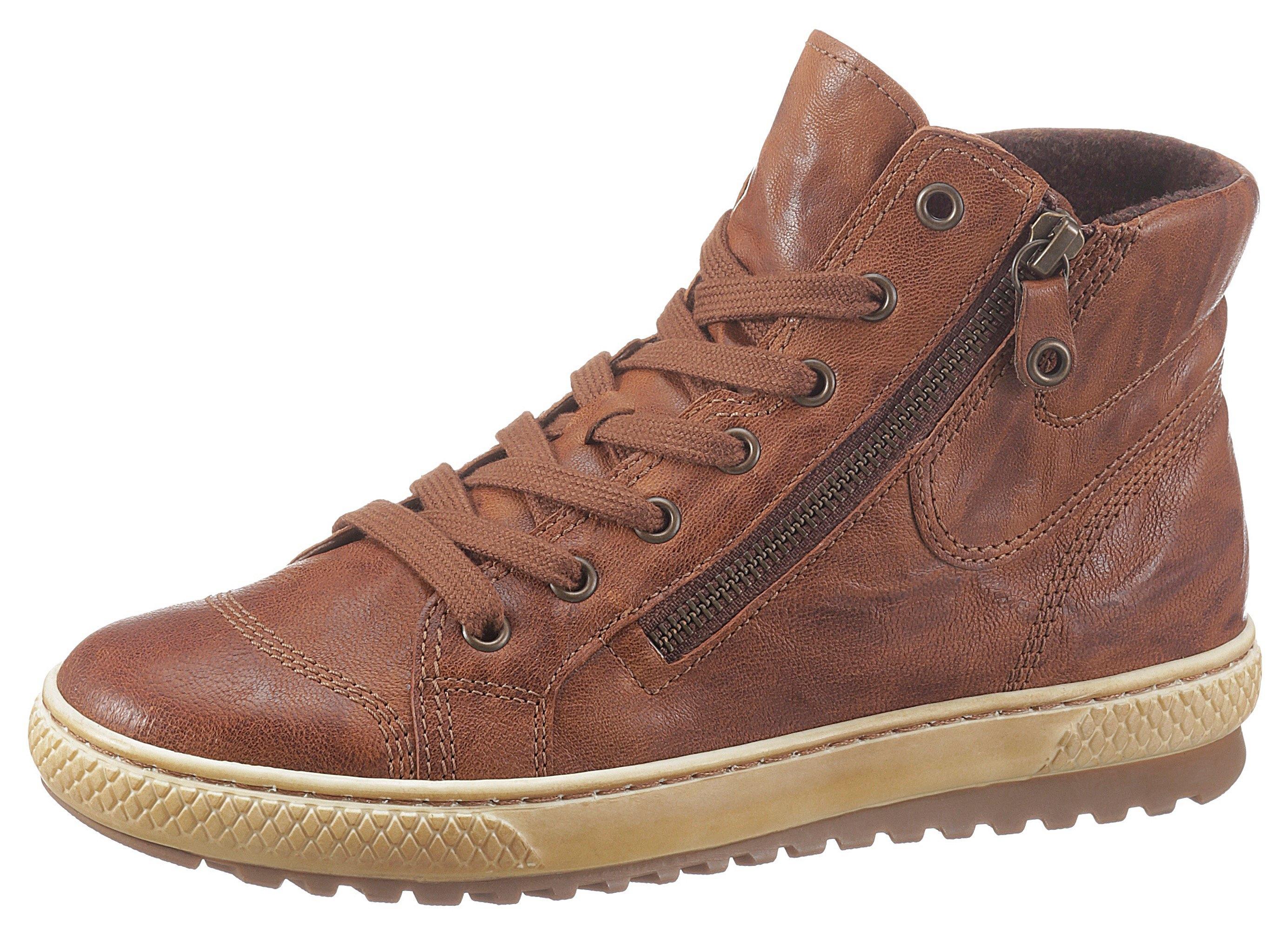 Gabor Hoge veterschoenen met rits aan de buiten- en binnenkant in de webshop van OTTO kopen