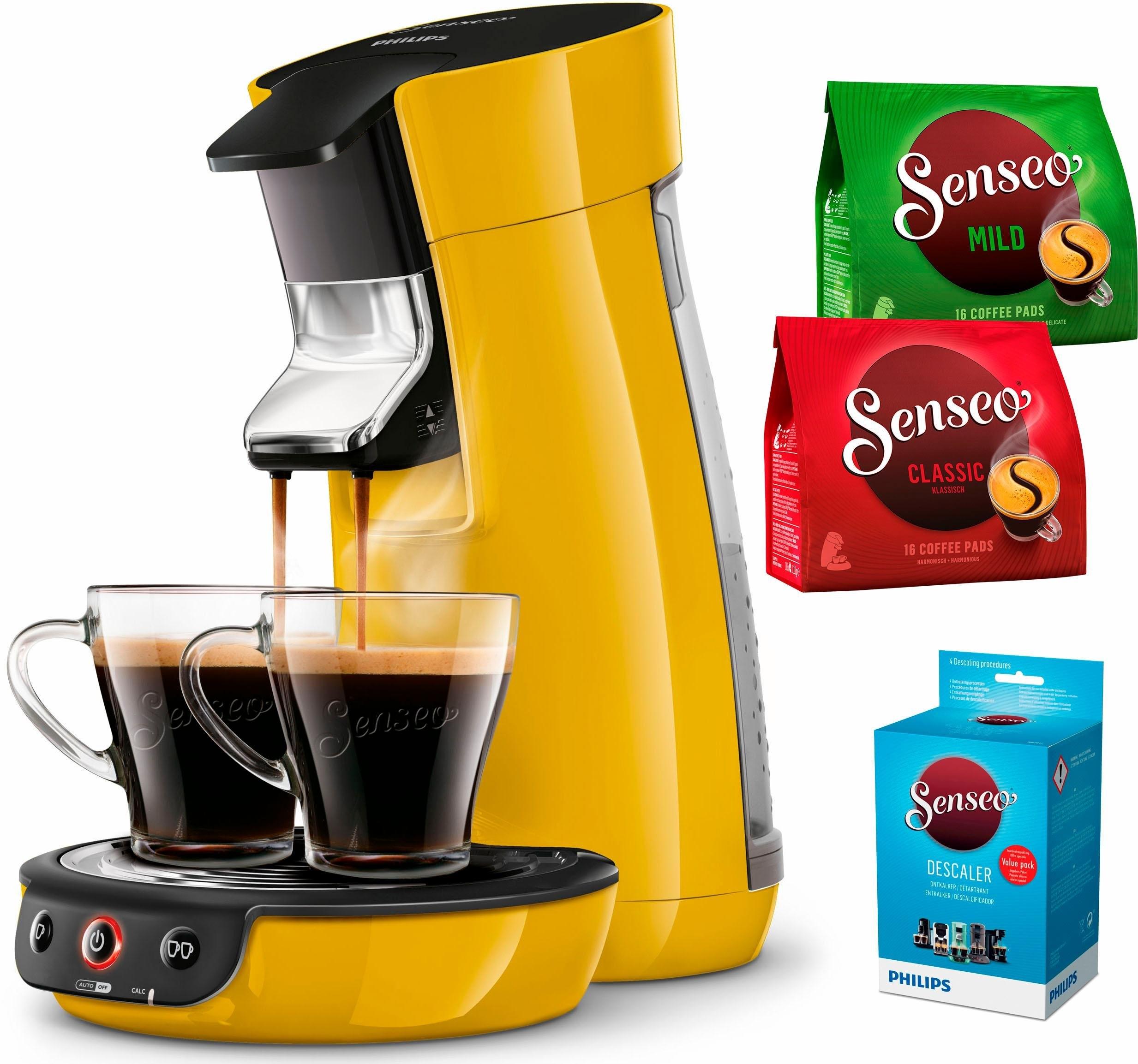 Senseo Philips SENSEO® koffiepadautomaat Viva Café HD7829/50, mangogeel - gratis ruilen op otto.nl