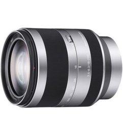 Objectief SEL18200.AE zilverkleur/zwart