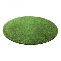 vloerkleed, rond, living line, »ibiza«, geschikt voor binnen en buiten, kunstgras, getuft groen