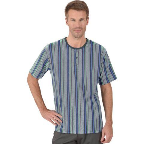 TRIGEMA Shirt met knoopsluiting