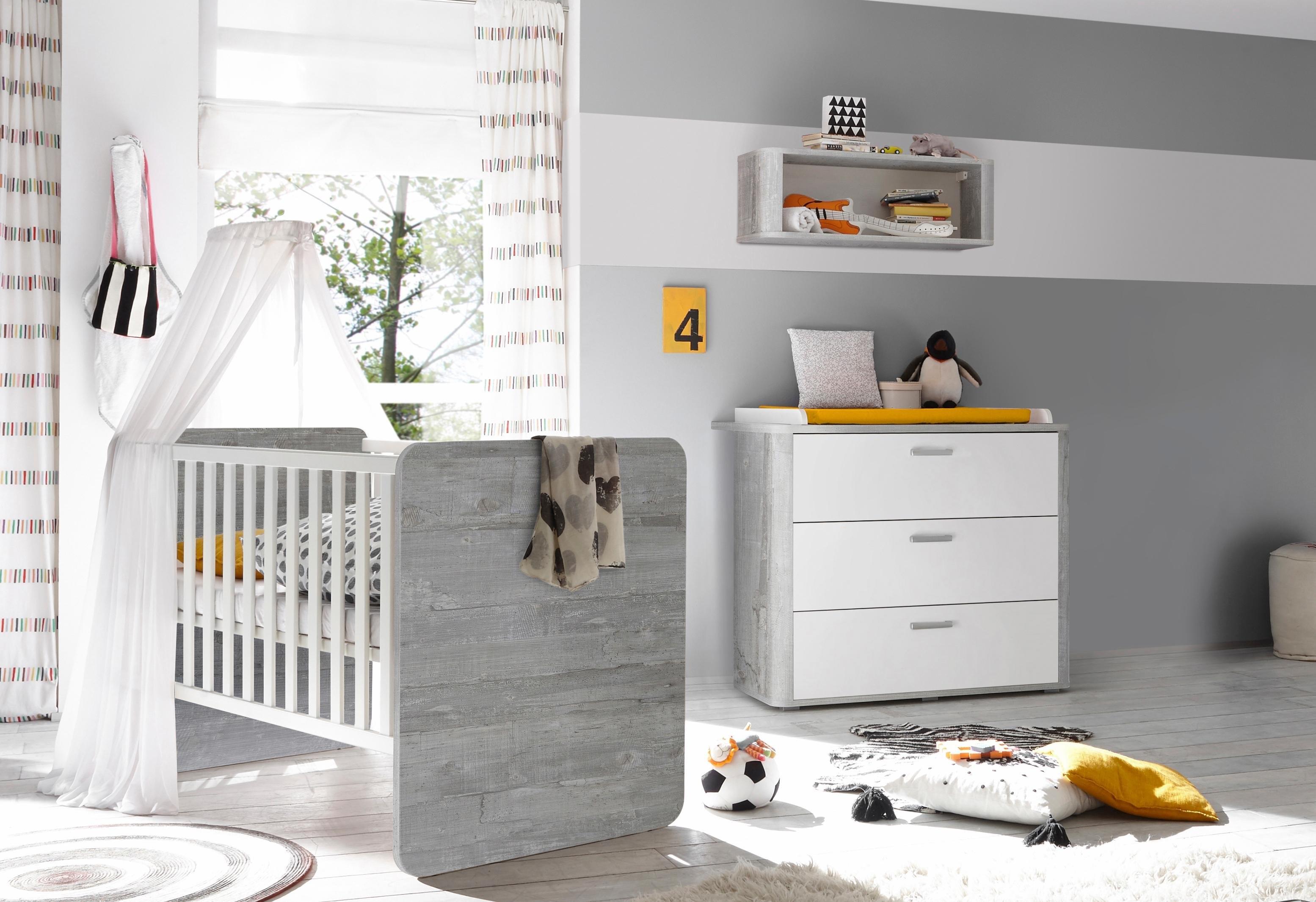 Babykamer Wit Grijs.Babykamer Aarhus Grijs Mat Wit Online Kopen Bekijk Nu Onze