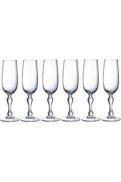 champagneglas, »CHARMS« (set van 6)