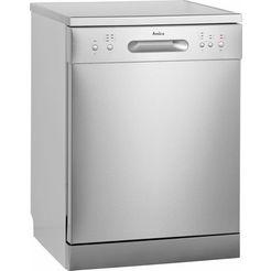 amica vaatwasser gsp 14755-1 e energiebesparende eco-stand zilver