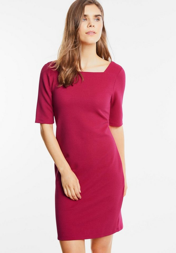Street One jersey jurk Pollia roze