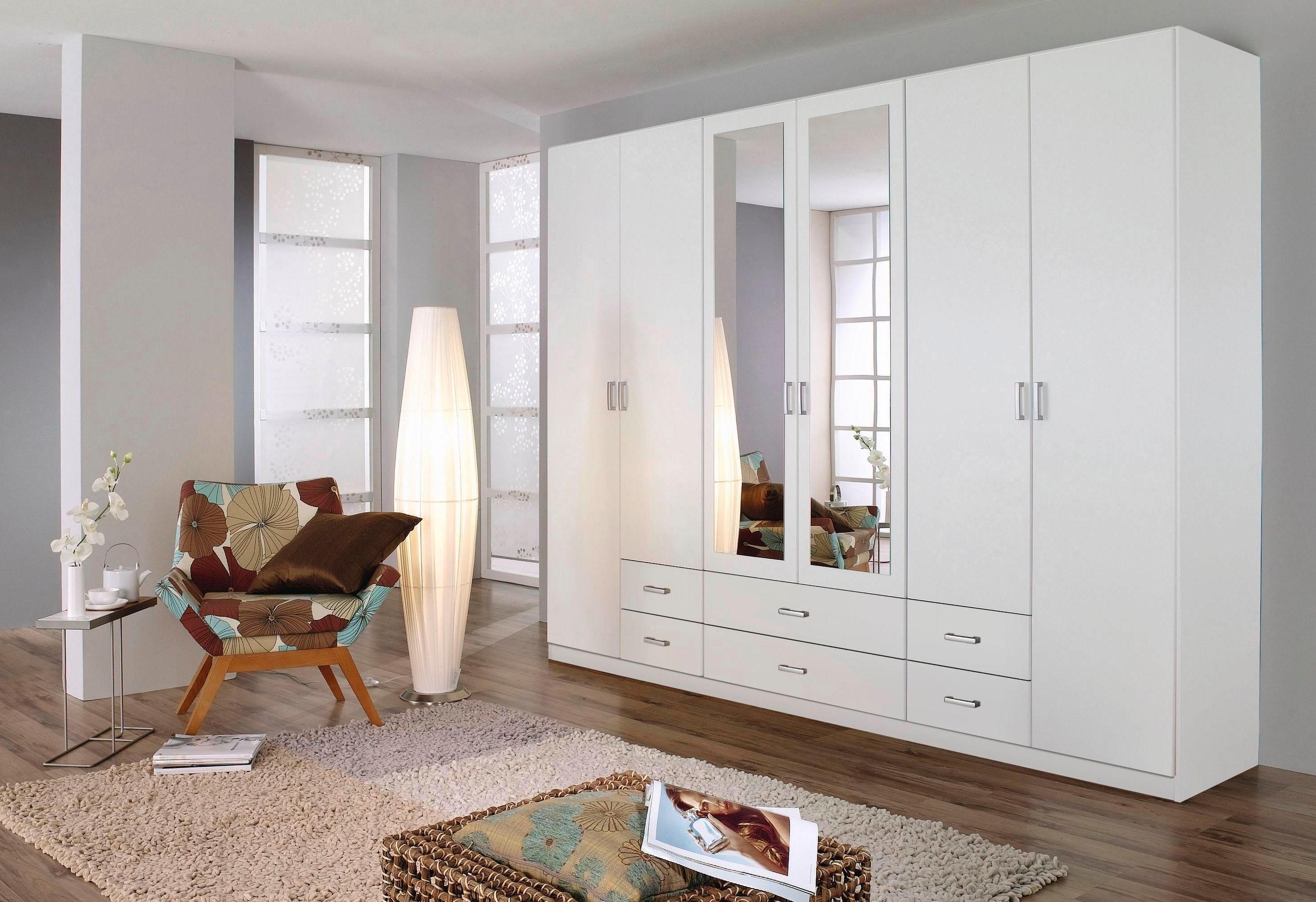 rauch garderobekast met spiegel bestel nu bij otto. Black Bedroom Furniture Sets. Home Design Ideas