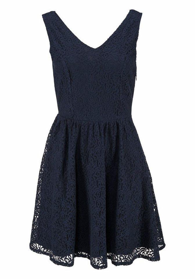 VERO MODA kanten jurk »SASHA« blauw