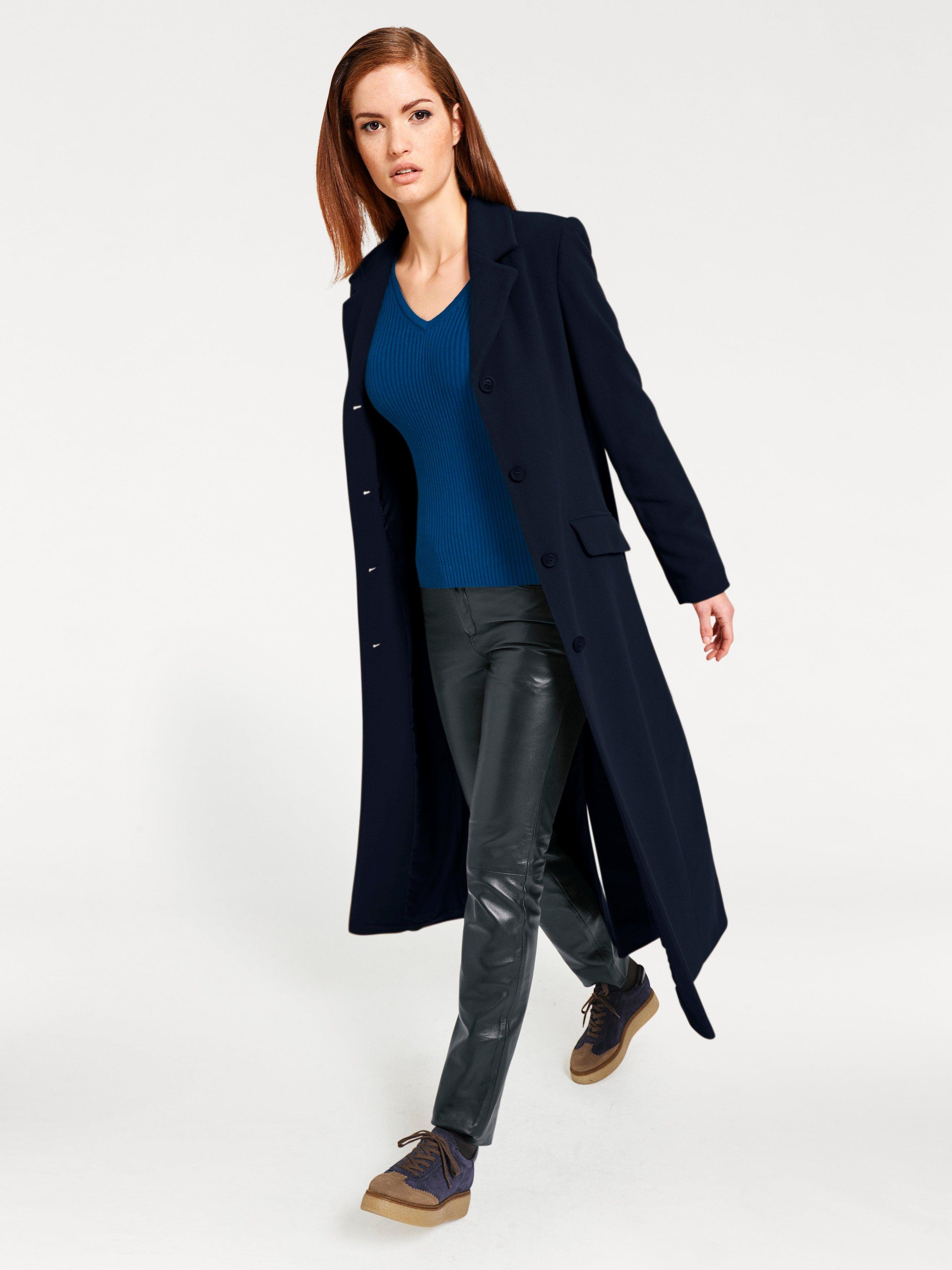 Wollen mantel dames sale