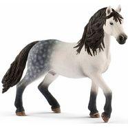 schleich speelfiguur 'horse club, andalusir hengst, 13821' multicolor